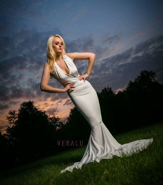 VERALU Dream halter mermaid dress