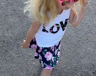 Girls Spring/Summer Love Dress