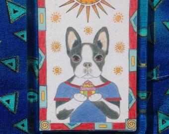 Boston Terrier Fridge Magnet - Fridge Magnet of Boston Terrier