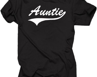 Aunt Gift T-shirt Gift For Auntie Hand Made Tee Shirt New Aunt Tee Shirt