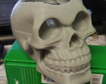3D Skull and Zombie Token Cups