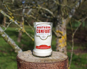 Upcycled Southern Comfort Large Bottle Candle