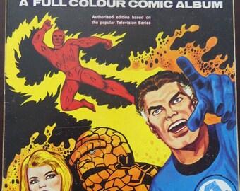 Fantastic Four Comic Album No 1 (1969) - Very Rare Original Key 1st Volume