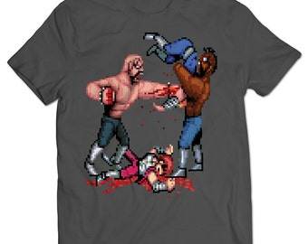 Double Dragon Abobo Beat Down T-shirt