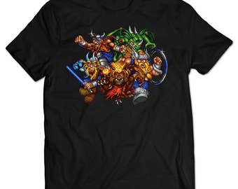 The Lost Vikings 2 T-shirt