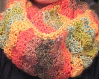 Infinity scarf, Crochet scarf