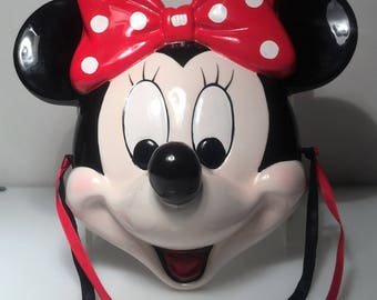 Schmid Minnie Mouse Ceramic Mask / Wall Plaque