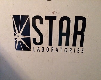 Star Laboratories Wall Decal