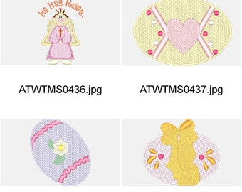 Celebrating-Easter ( 10 Machine Embroidery Designs from ATW ) XYZ17C