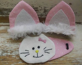 Sweet cat with extra ears (3 items)
