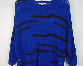 Vintage Blue/Black Jumper