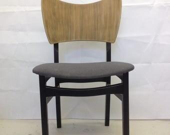 Vintage mid century modern dining chair