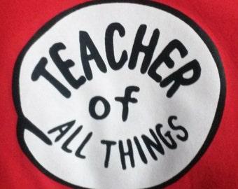 TEACHER of All Things Teacher of 1st GRADE 2nd