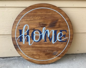 Custom Wood Sign | Home Sign | Personalized Wood Sign | Home Decor | Hand Painted