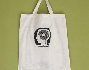 Brainstorm Tote Bag, Short Handles