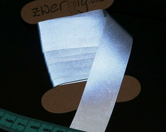 Reflective tape for attaching silver 25 mm wide x 200 cm - 3 m™ Scotchlite™