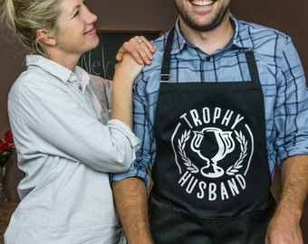 ApronMen Trophy Husband Apron