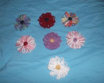 Yarn Flowers