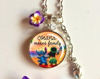 Lilo & Stitch necklaces, Various Designs!