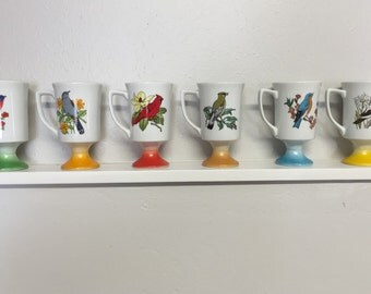 Songbird Pedestal Mugs Made in Japan