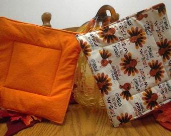 Potholders - Turkey - Thanksgiving