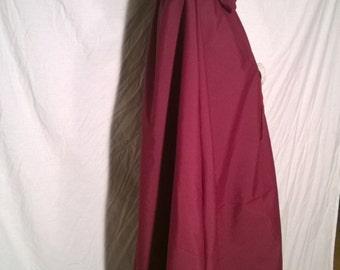Wine Victorian Cloak  - Hooded Cloak - Long Cloak - Kinsale Cloak - Cloak with Hood - Cloaks and Capes - Semi-waterproof