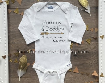Psalm 127:3-5 Verse Baby Onesie® / Baby Bodysuit / Toddler TShirt / Going Home Outfit / Baby Shower Gift / Gender Neutral