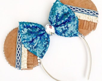 The Colours of the Wind - Handmade Disney Pocahontas Inspired Mouse Ears Headband