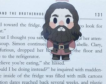 Hagrid - Magnetic bookmark - Rubeus Hagrid || harry potter | hogwarts | always | book gift | bookmark | bookish | magnetic bookmarks