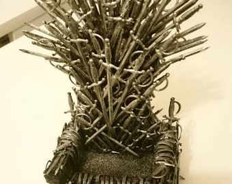 Iron Throne GoT Game of Thrones mobile phone holder / Handyhalter