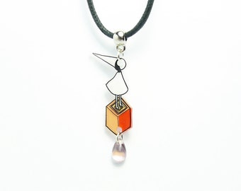 Necklace/pendant: Over the Valley