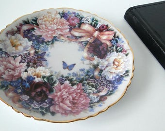 Vintage, Bradford Exchange, Circle of Love, Plate, Collectible Plate, Home Decor