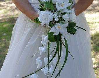 Wedding Bouquet Emotion preserved flowers - Keep Your Bride Bouquet - Preserved Natural Flowers