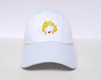 Marilyn Monroe | White Dad Hat