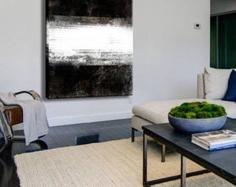 Abstract painting, Black and white, Contemporary Art, Abstract Painting, Original Artwork, Abstract Painting, Abstract art print, Acrylic