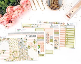 Champagne Dreams Vertical Planner Kit || for use with ERIN CONDREN LIFEPLANNER™.