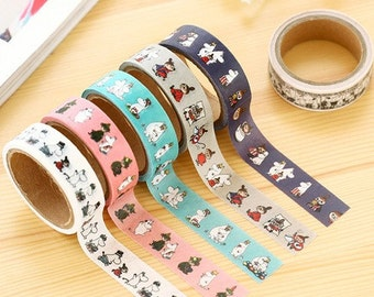 Moomin Washi Tape 5m, planner supplies, crafting tape, masking tape, scrapbooking, planner accessories, cartoon washi tape, cute stationery
