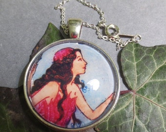The Pink Fairy pendant