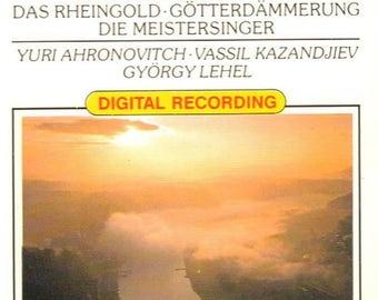 Wagner - Magic Fire Music - Vintage Music Cassette