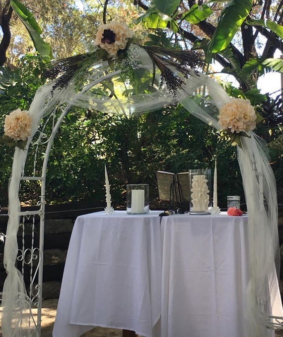 Floral Wedding Arch Decorations