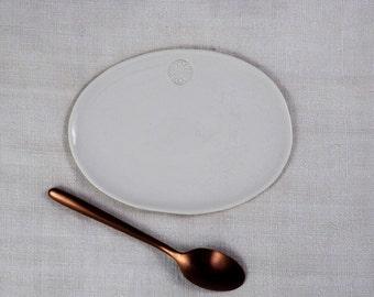 Small dish, SOAP, white porcelain dish dish