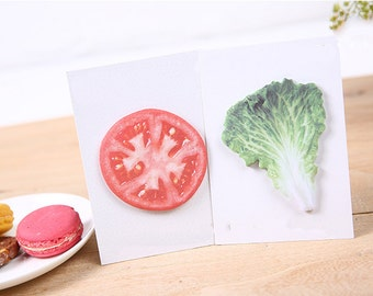 Sandwich Food Sticky Notes, Post It Notes, Reminder Notes, Memo Pad Stickers