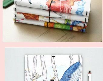 Kawaii Planner, Cat Planner, Journal, Kawaii Notebooks, Planner DIY, Memo pad, Daily Planner, Monthly Planner, hard cover journal