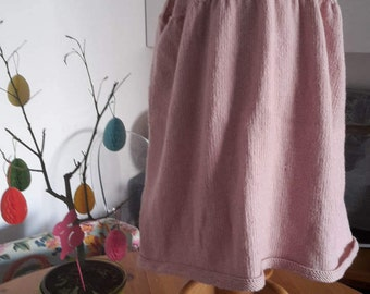 Dress 100% wool or cotton