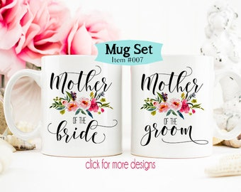 Mother of the Bride Gift, Mother of the Groom Coffee Mug, Gift from daughter, Gift for mother of the bride, Bridal Party Mug