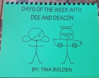 Dee and Deacon Days Of The Week Calendar