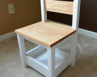 Kid's Play/Dining Chair with Storage