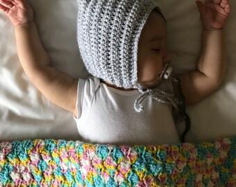Grey Pixie Hat