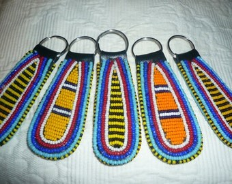 Maasai beaded keyring