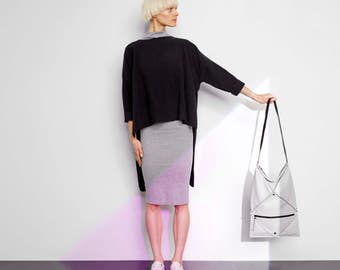 HANA convertible bag in Light Grey